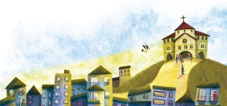 Ilustración Silvia Álvarez Revista Misión
