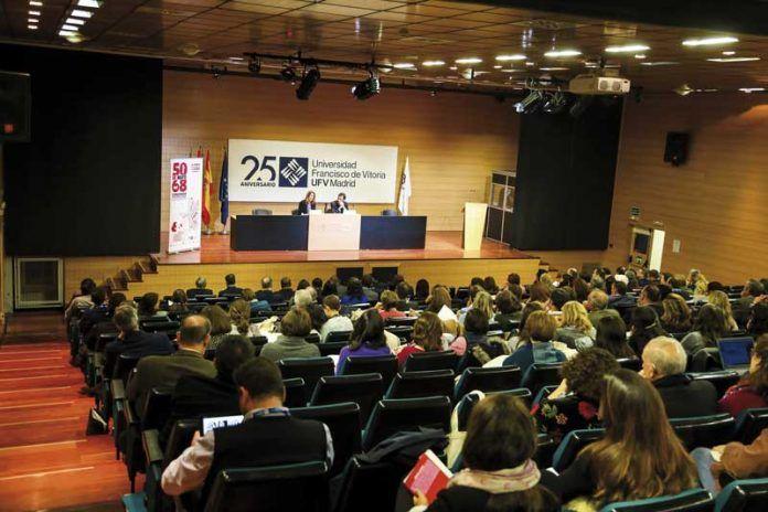Congreso de Mayo del 68 celebrado en la UFV