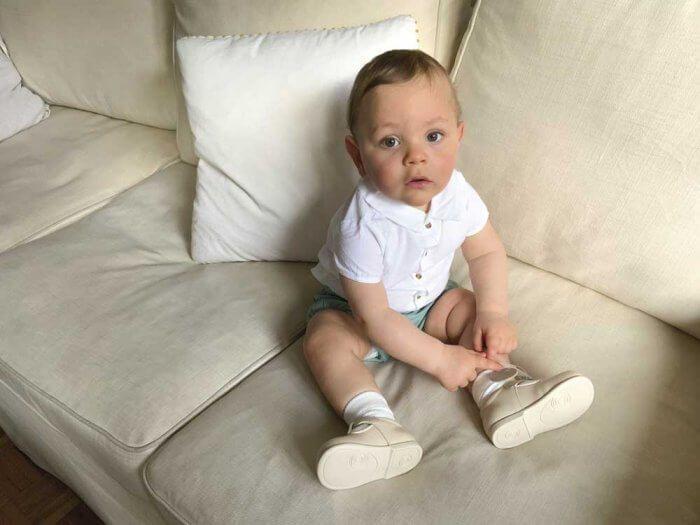 Rubén. Bebé prematuro. Revista Misión