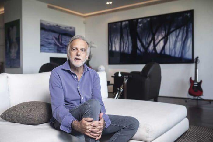 Paco Arango durante la entrevista Revista Misión