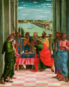 El Transito de la Virgen de Andrea Mantegna
